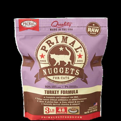 Primal Turkey Formula Raw Cat Food