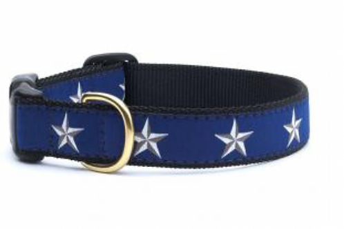 Up Country Stars Dog Collar