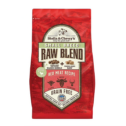 Stella & Chewy's Small Breed Formula Red Meat Recipe Raw Blend Kibble Dog Food