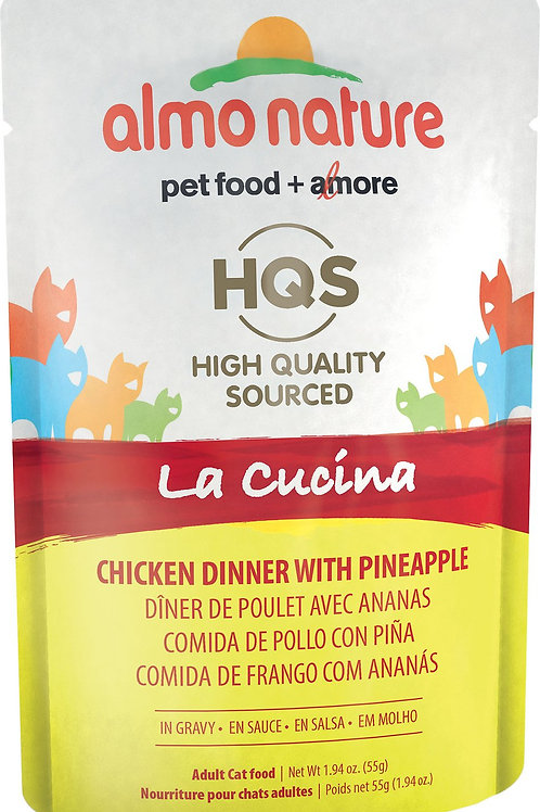 Almo La Cucina Chicken Dinner with Pineapple Cat Food