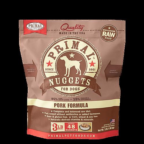 Primal Pork Formula Raw Dog Food