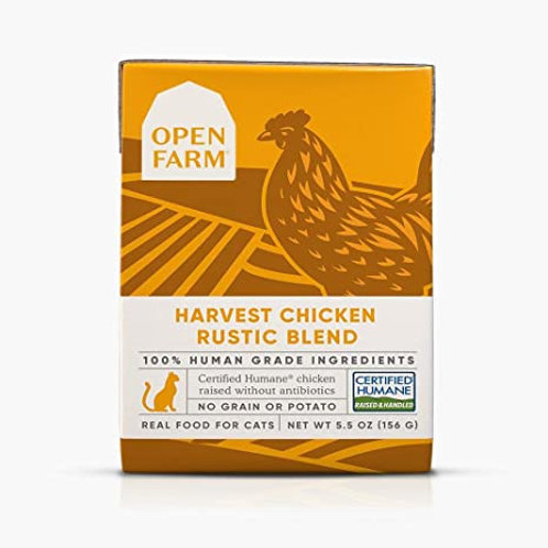 Open Farm Harvest Chicken Rustic Blend Cat Food