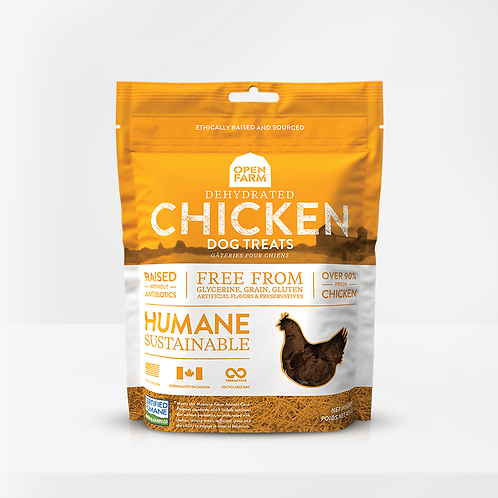 Open Farm Dehydrated Chicken Treats for Dogs