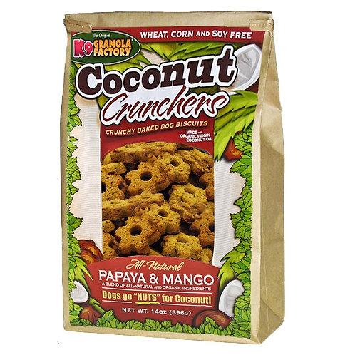 K9 Papaya & Mango Coconut Crunchers Treats for Dogs