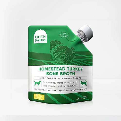 Open Farm Turkey Bone Broth Meal Topper