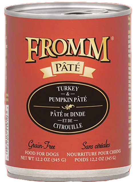 Fromm Turkey & Pumpkin Pâté Dog Food