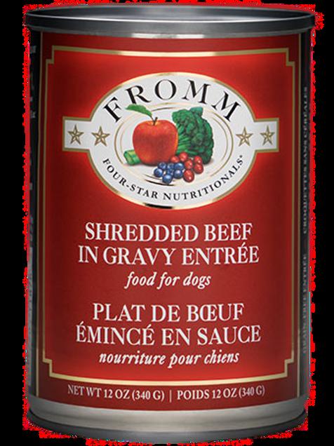 Fromm Shredded Beef in Gravy Dog Food