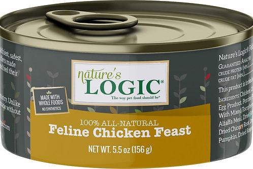 Nature's Logic Feline Chicken Feast Cat Food