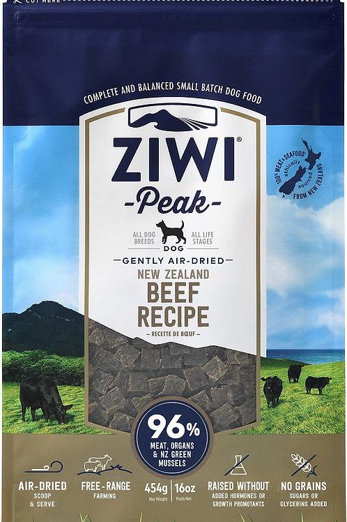 Ziwi Peak Air-Dried Beef Recipe Dog Food