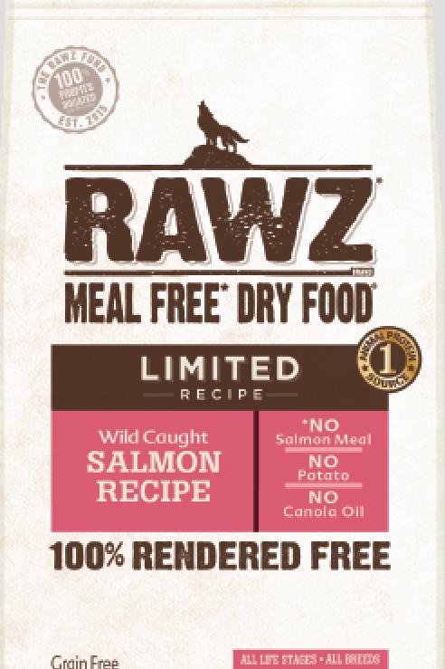 Rawz Salmon Limited Recipe Dog Food