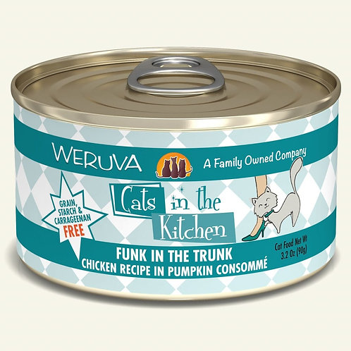 Weruva Funk in the Trunk - Chicken and Pumpkin Cat Food