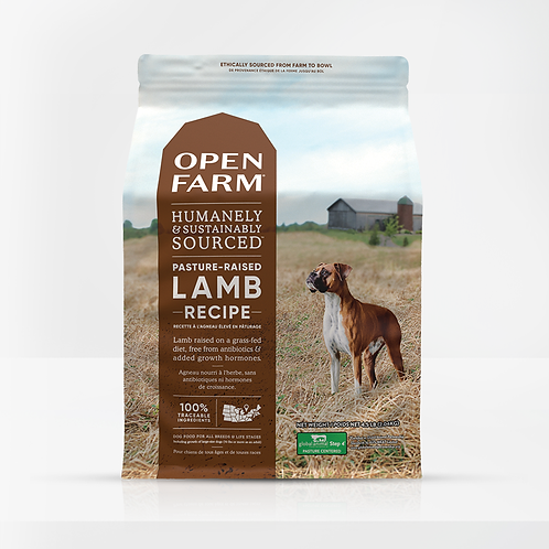 Open Farm Pastured-Raised Lamb Recipe Dog Food