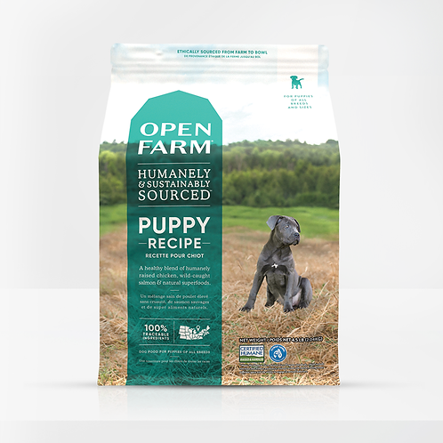 Open Farm Puppy Recipe Dog Food