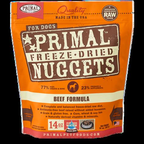 Primal Beef Formula Freeze-Dried Raw Dog Food
