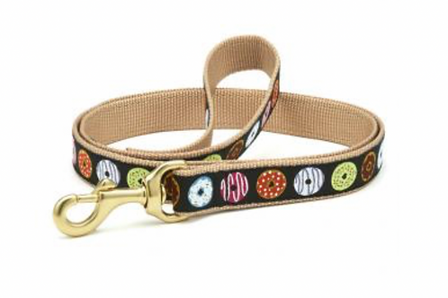 Up Country Donuts/Brown 6' Leash