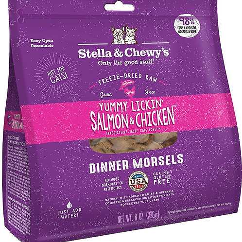 Stella & Chewy's Salmon & Chicken Dinner Morsels Cat Food