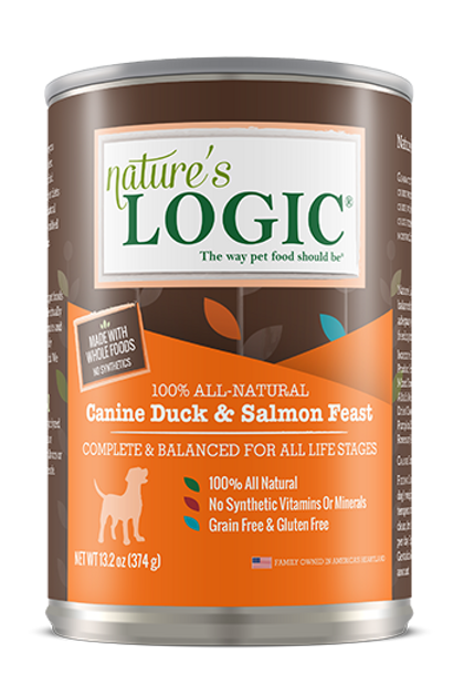 Nature's Logic Canine Duck & Salmon Feast Dog Food