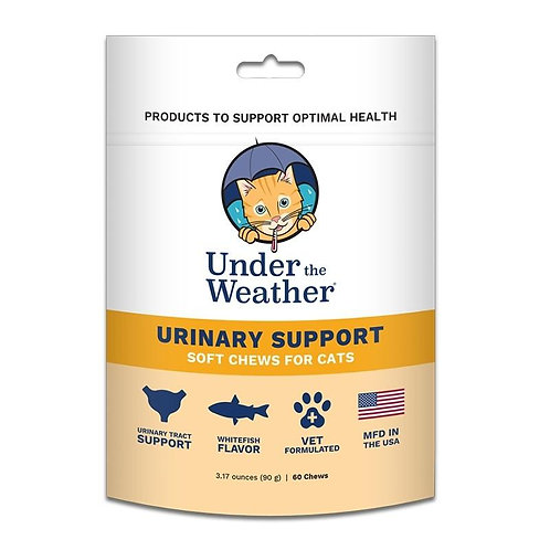 Under the Weather Urinary Support Chews for Cats