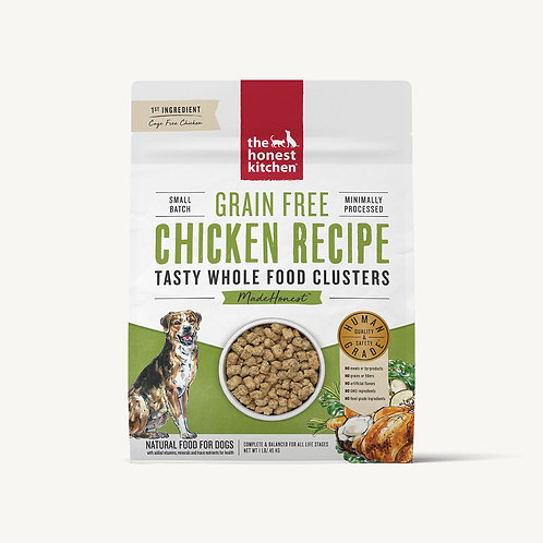 Honest Kitchen Chicken Recipe Whole Food Clusters Dog Food