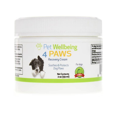 Pet Wellbeing Paw Recovery Cream for Dogs