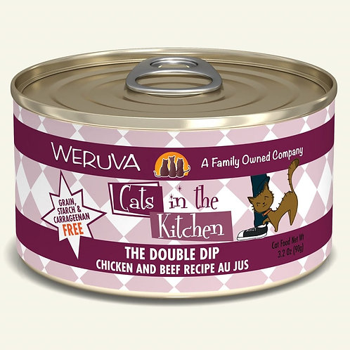 Weruva Double Dip - Chicken and Beef Cat Food