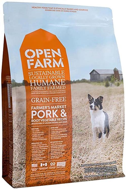Open Farm Pork & Root Vegetable Grain Free Recipe Dog Food