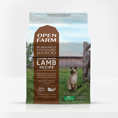 Open Farm Pasture-Raised Lamb Recipe Cat Food