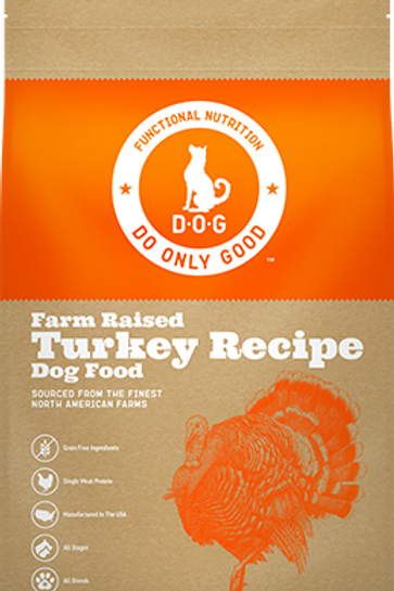 D.O.G. Farm Raised Turkey Recipe Dog Food