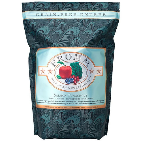 Fromm Salmon Tunachovy Grain-Free Cat Food