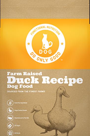 D.O.G. Farm Raised Duck Recipe Dog Food