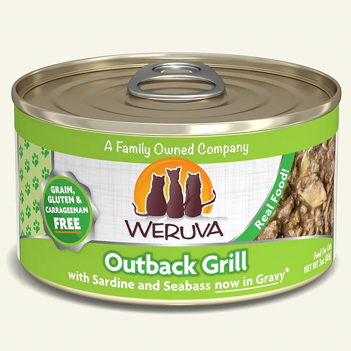 Weruva Outback Grill - Sardine and Seabass in Gravy Cat Food