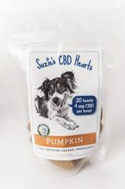 Suzie's Pumpkin CBD Treats for Dogs