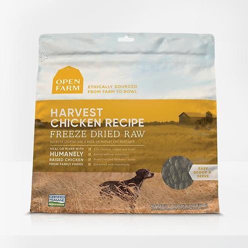 Open Farm Harvest Chicken Recipe Freeze Dried Raw Dog Food