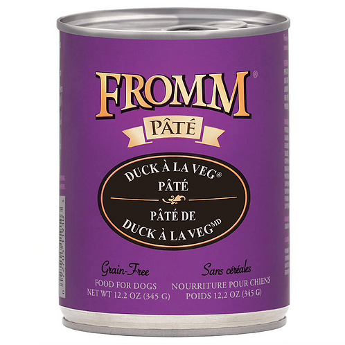 Fromm Duck a la Veg Pâté Dog Food