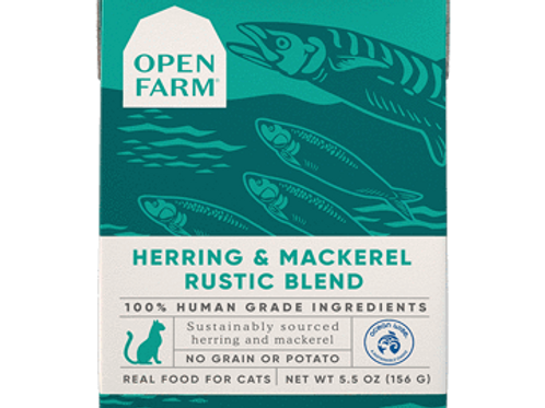 Open Farm Herring & Mackerel Rustic Blend Cat Food