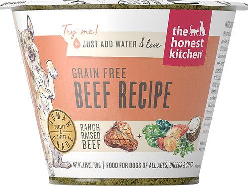 Honest Kitchen Beef Recipe Dog Food (Just add water)