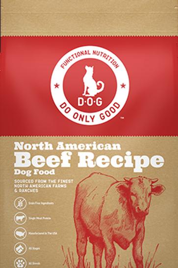 D.O.G. North American Beef Recipe Dog Food
