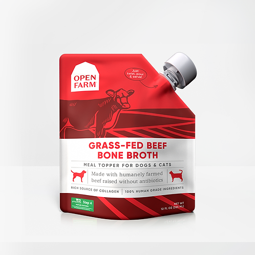 Open Farm Beef Bone Broth Meal Topper