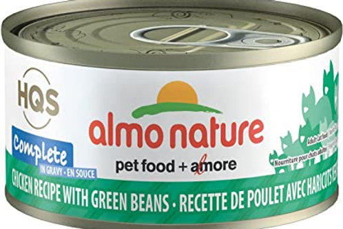 Almo Chicken Green Beans Cat Food