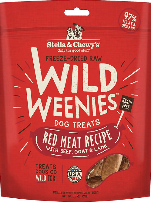 Stella & Chewy's Red Meat Recipe Wild Weenies Dog Treats