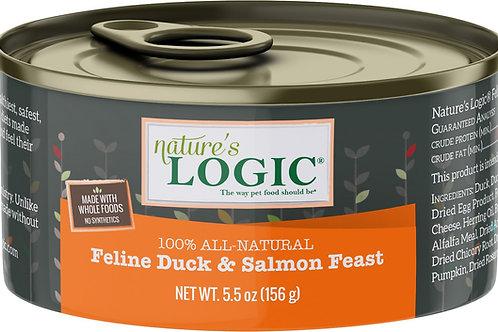Nature's Logic Feline Duck & Salmon Feast Cat Food