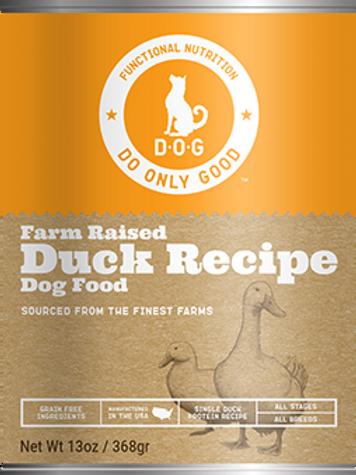 D.O.G. Farm Raised Duck Recipe Canned Dog Food