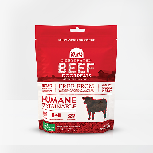 Open Farm Dehydrated Beef Treats for Dogs