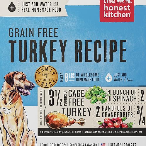 The Honest Kitchen Grain Free Turkey Recipe Dog Food (Just add water)
