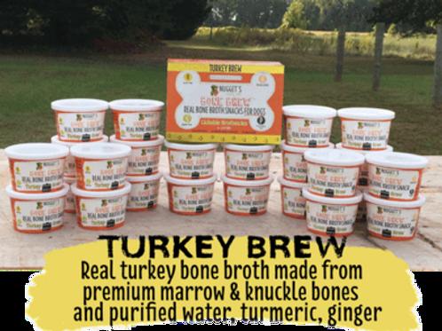 Nugget's Turkey Brew Frozen Bone Broth Treat for Dogs
