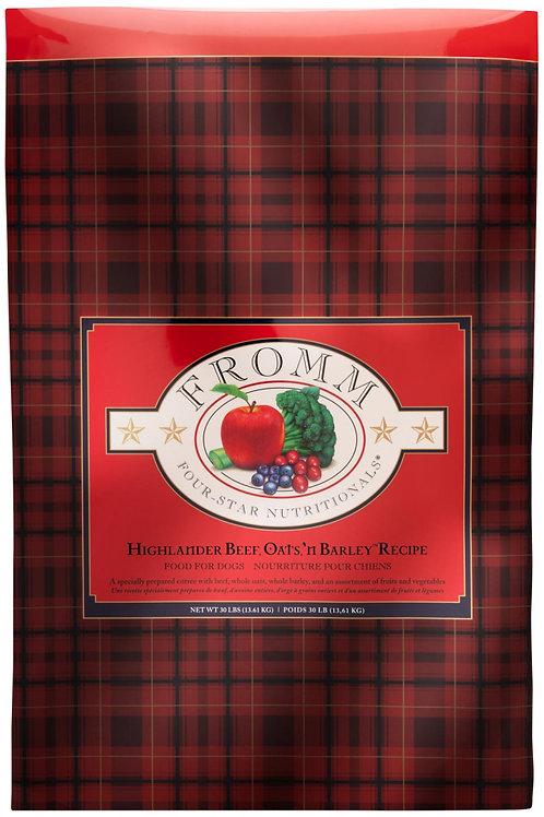 Fromm Highlander Beef Oats 'n Barley Recipe Dog Food