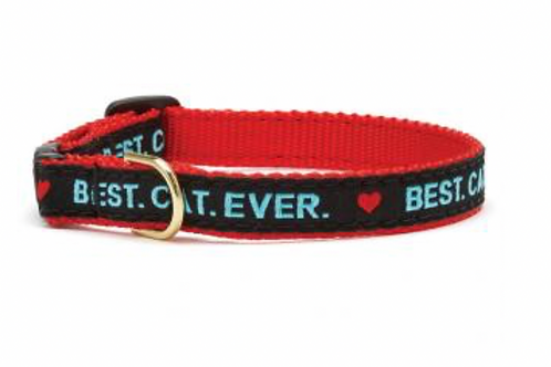 Up Country Best Cat Ever Cat Collar
