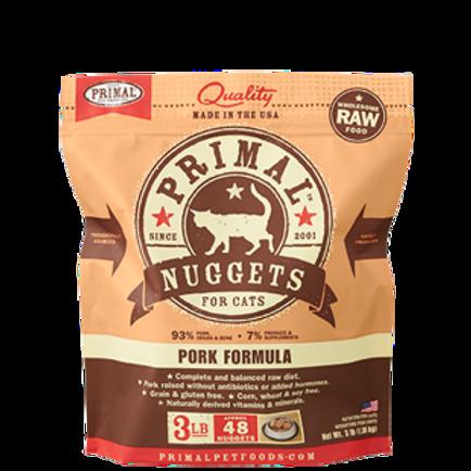 Primal Pork Formula Raw Cat Food
