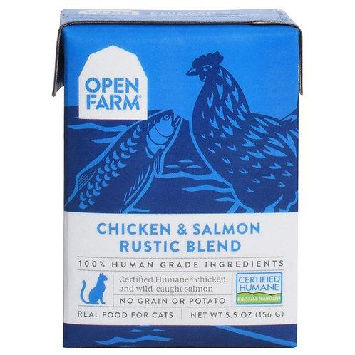 Open Farm Chicken & Salmon Rustic Blend Cat Food
