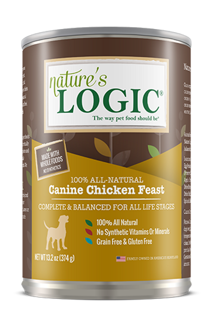 Nature's Logic Canine Chicken Feast Dog Food